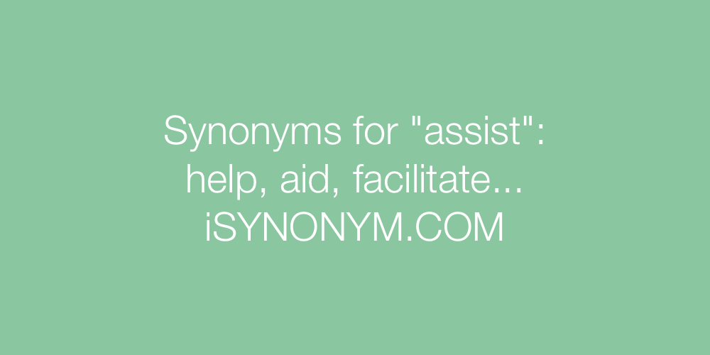 Synonyms assist