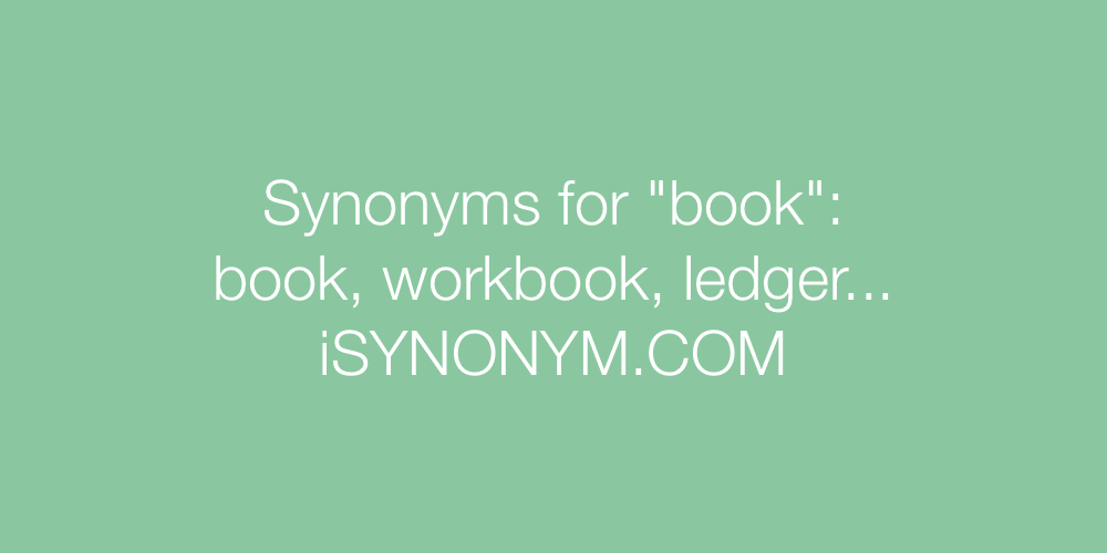 Synonyms book
