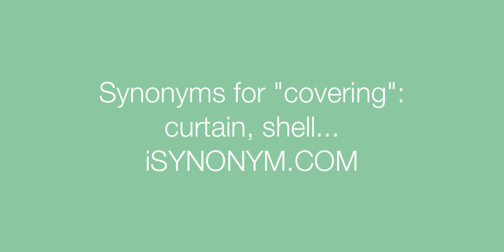Synonyms covering
