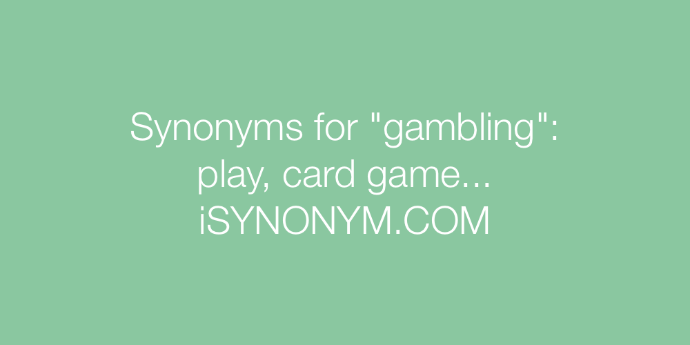 Synonym for gambling casino hotel sam town