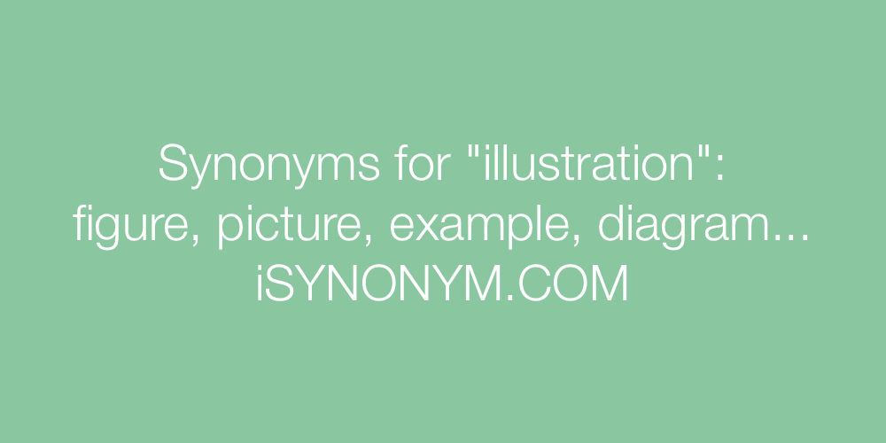 Synonyms illustration