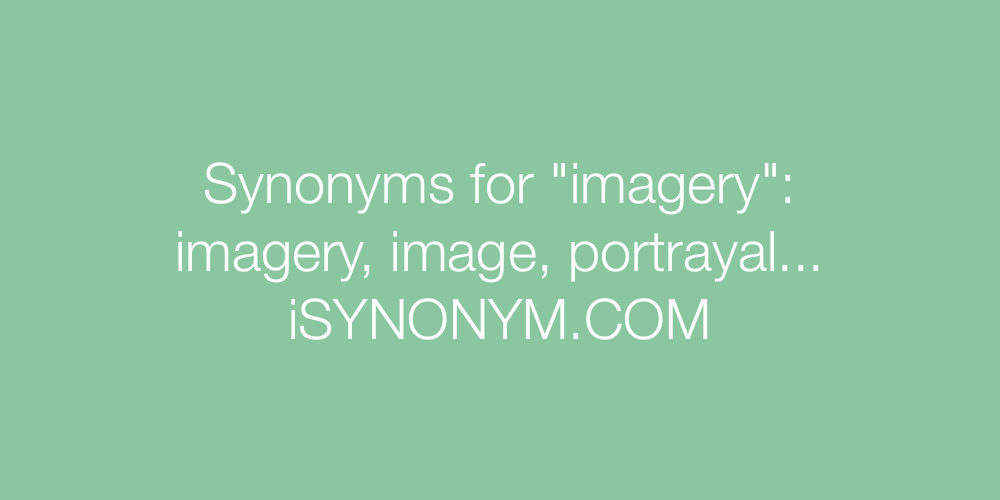 Synonyms imagery