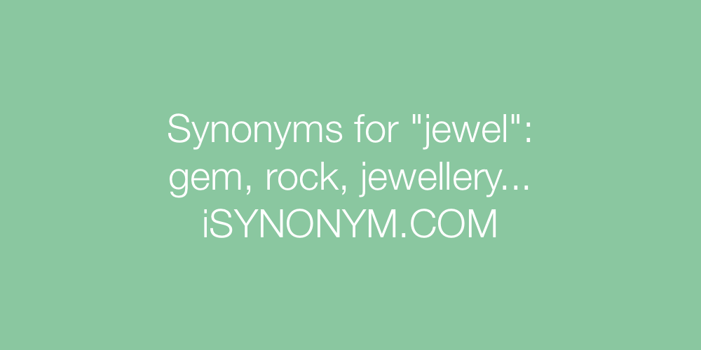 Synonyms jewel