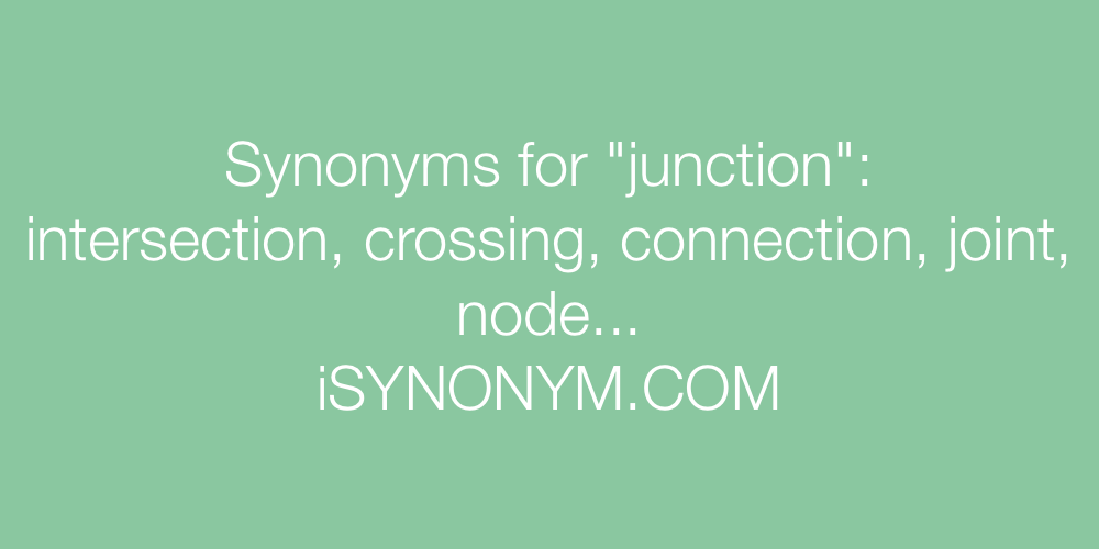 Synonyms junction