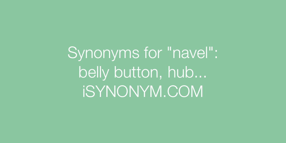 Synonyms navel