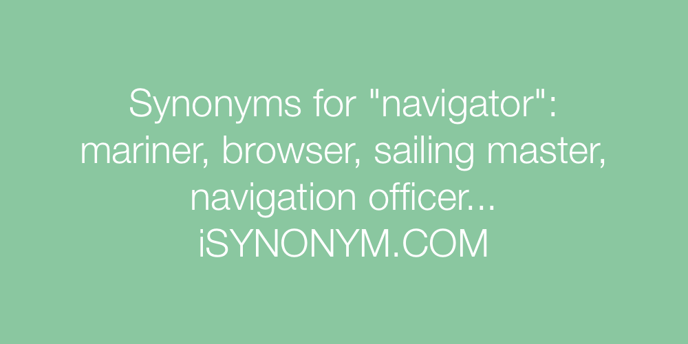 Synonyms navigator