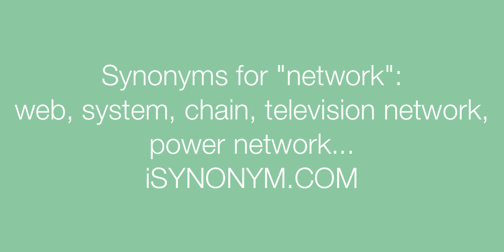 Synonyms network