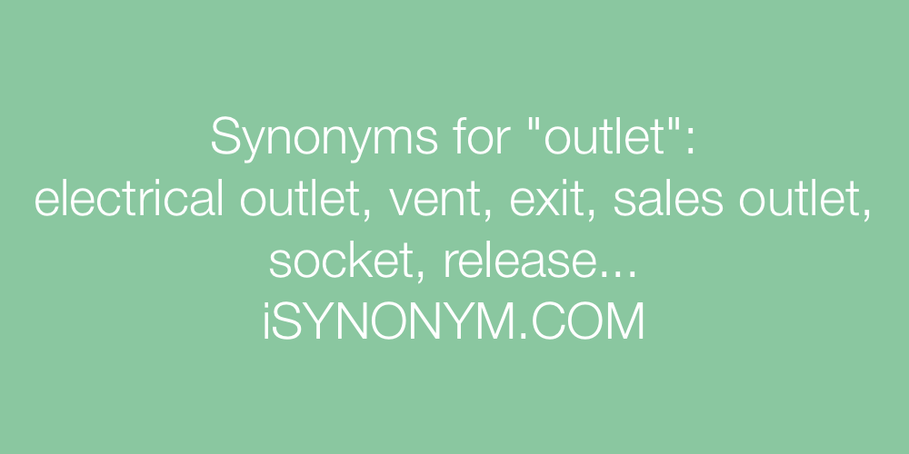 Synonyms outlet