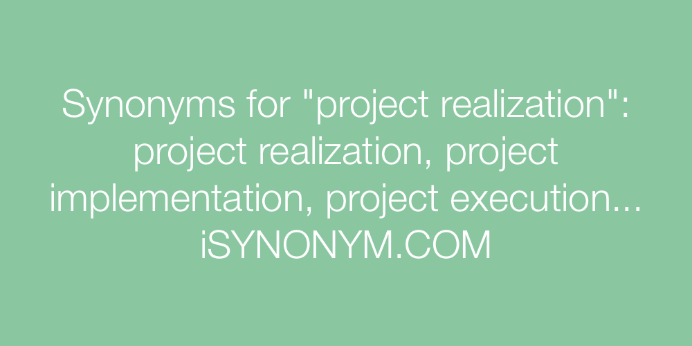 project synonym Synonyms, job titles, and keywords for project manager synonyms include project manager, pmp, project administrator, project leader.