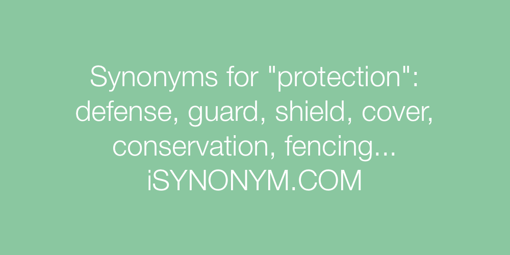 Synonyms protection