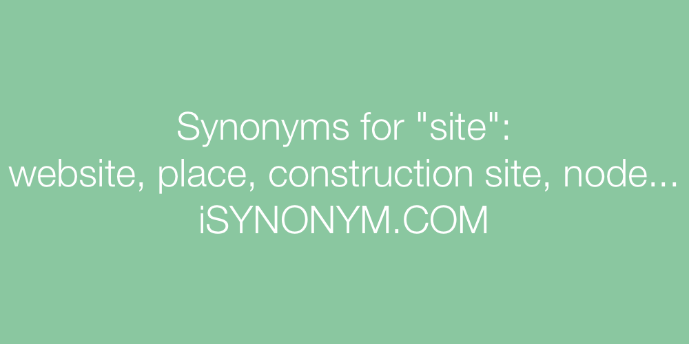 Synonyms site