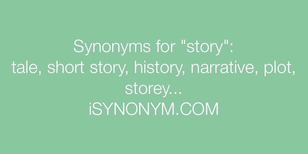 Synonyms story