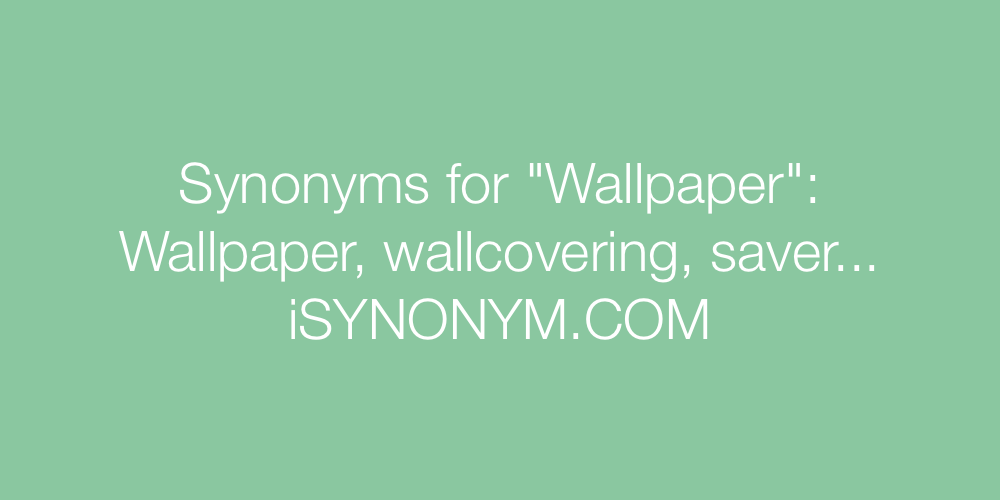 Synonyms Wallpaper